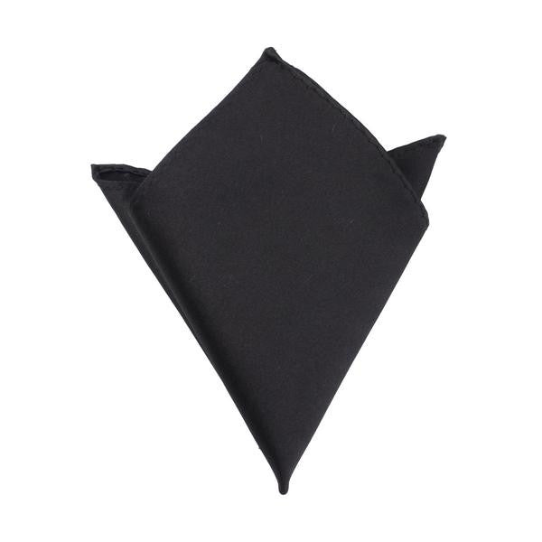 Black Pocket Square - TheSavvy.be