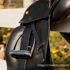 Total Saddle Fit Stability Stirrup Leathers