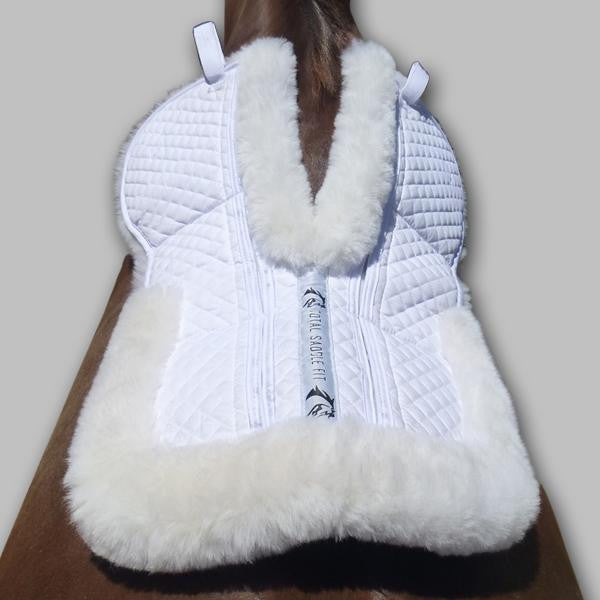 Total Saddle Fit Six Point Wither Freedom Sheepskin Dressage Pad