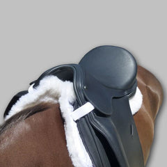 Total Saddle Fit Six Point Wither Freedom Sheeps Wool Dressage Pad - Saddlery Direct