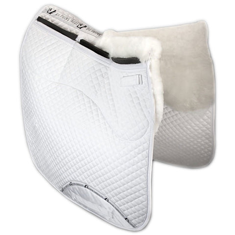 Total Saddle Fit Six Point Wither Freedom Sheeps Wool Dressage Pad