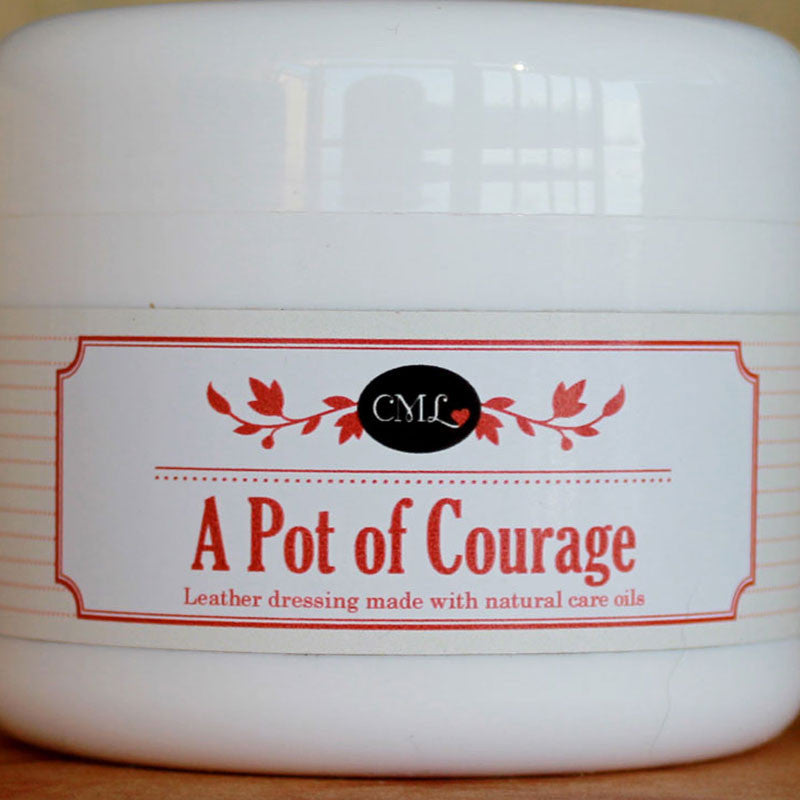 Pots of Courage Leather Dressing - Saddlery Direct