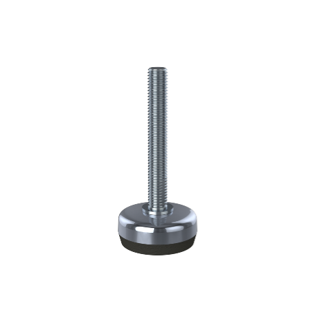 Stainless Steel Machine Foot - 40mm Diameter