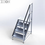 Aluminium Step Unit