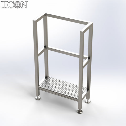 Stainless Steel Step Unit