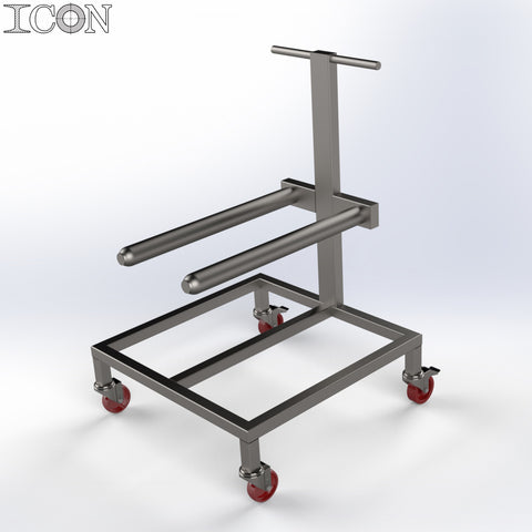 Twin Pin Reel Trolley