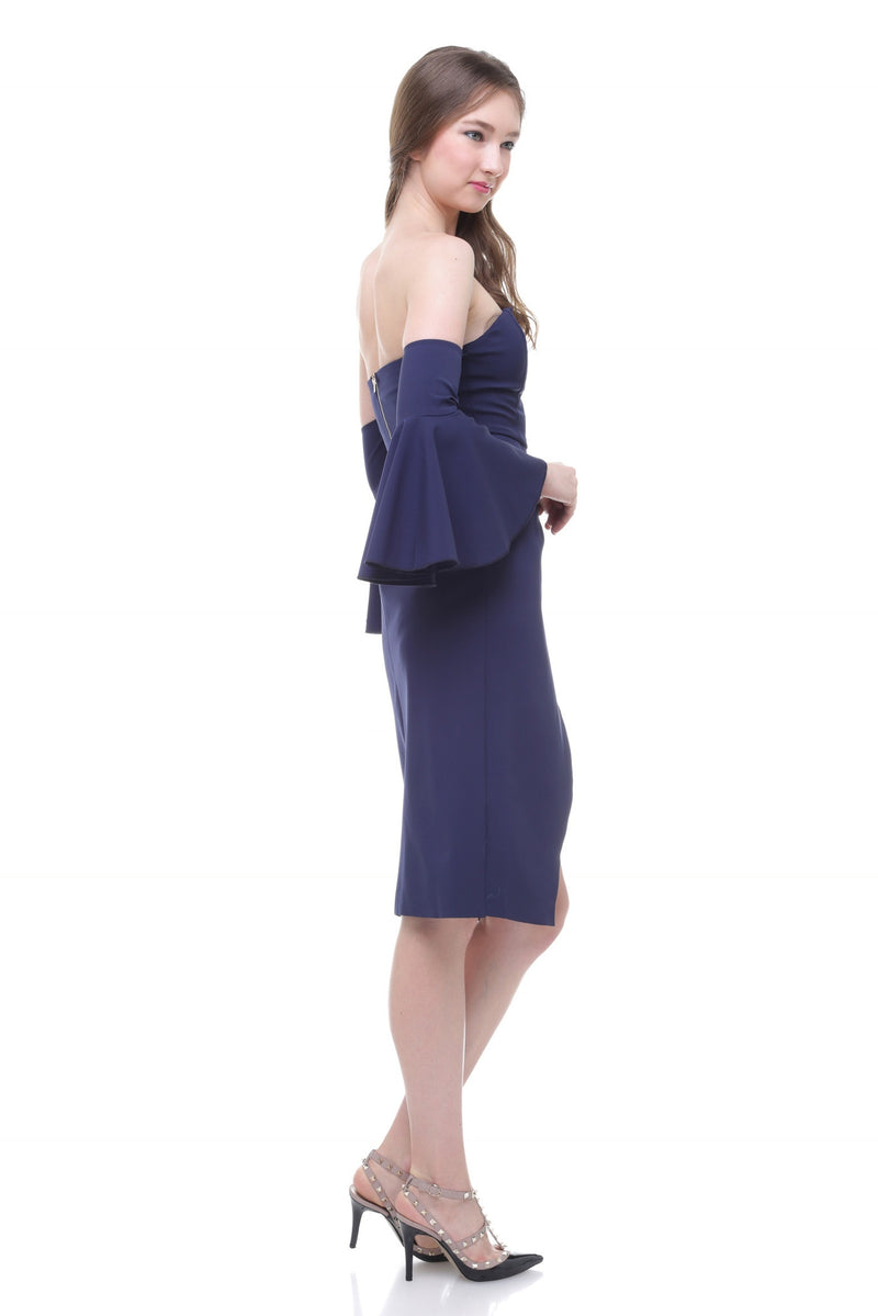 Miranti navy dress