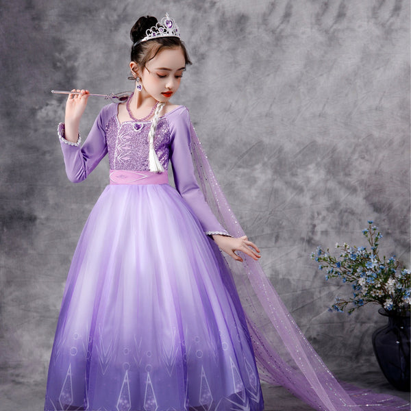 Frozen Lilac Princess Dress