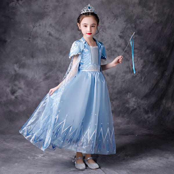 Mila Frozen Anna Elsa Terbaru Disney Princess Kostum Impor Dress