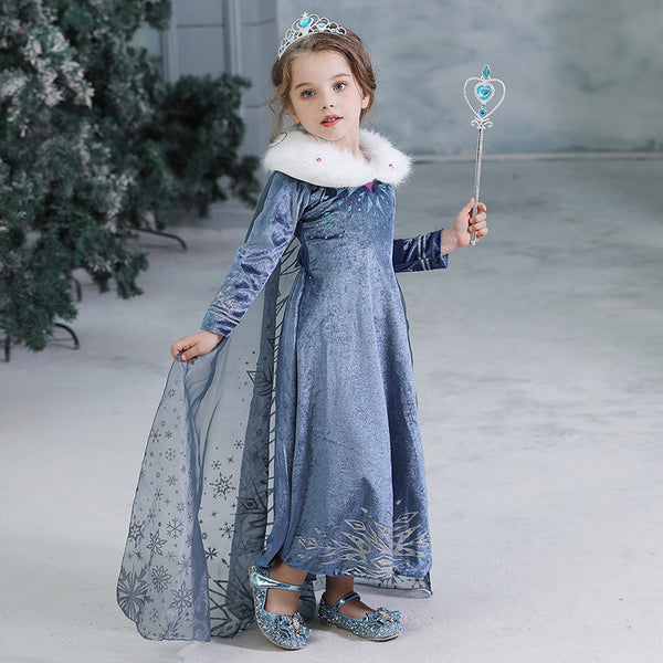 Frozen Disney Elsa/Dress kostum disney frozen parishkids