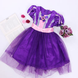 Princess purple dress - JUSYCO, Default - womenwear, Default - womenfashion