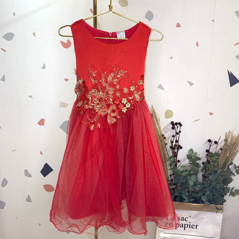 Arabella red dress
