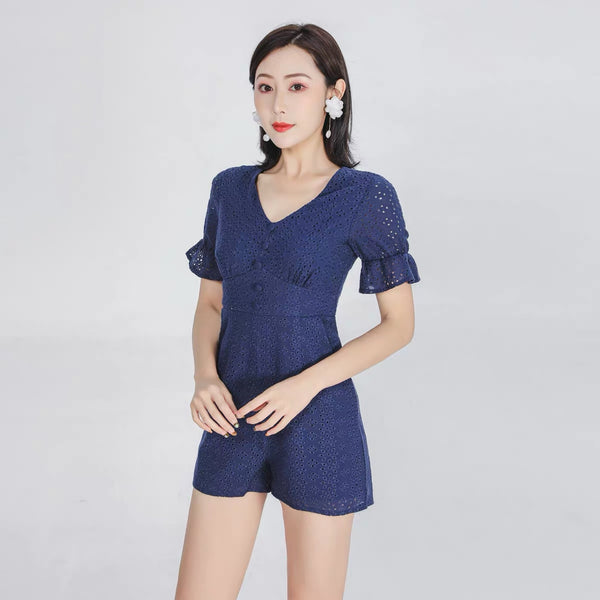Candace navy jumpsuit - JUSYCO, Default - womenwear, Default - womenfashion