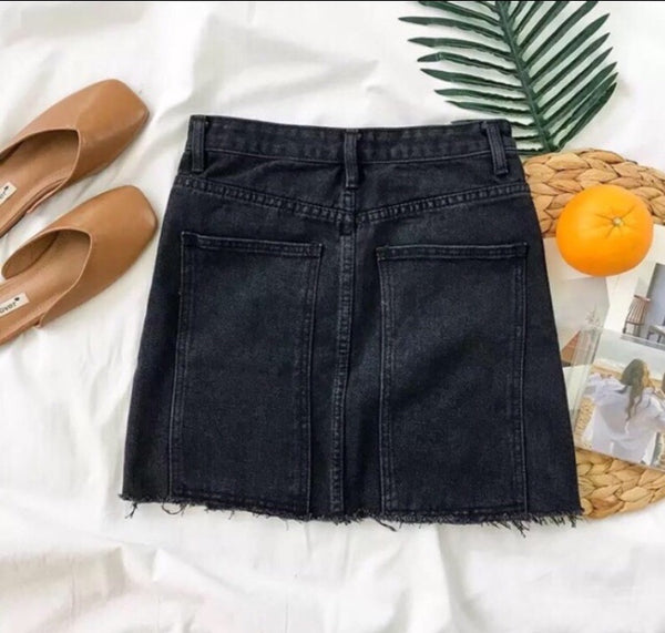 Viky denim skirt