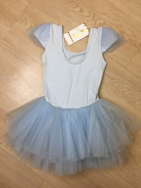 Dancing blue ballet dress/Dress ballet anak impor parishkids