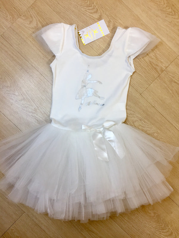 Bella white ballet dress