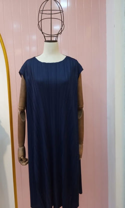 Miami navy issey dress