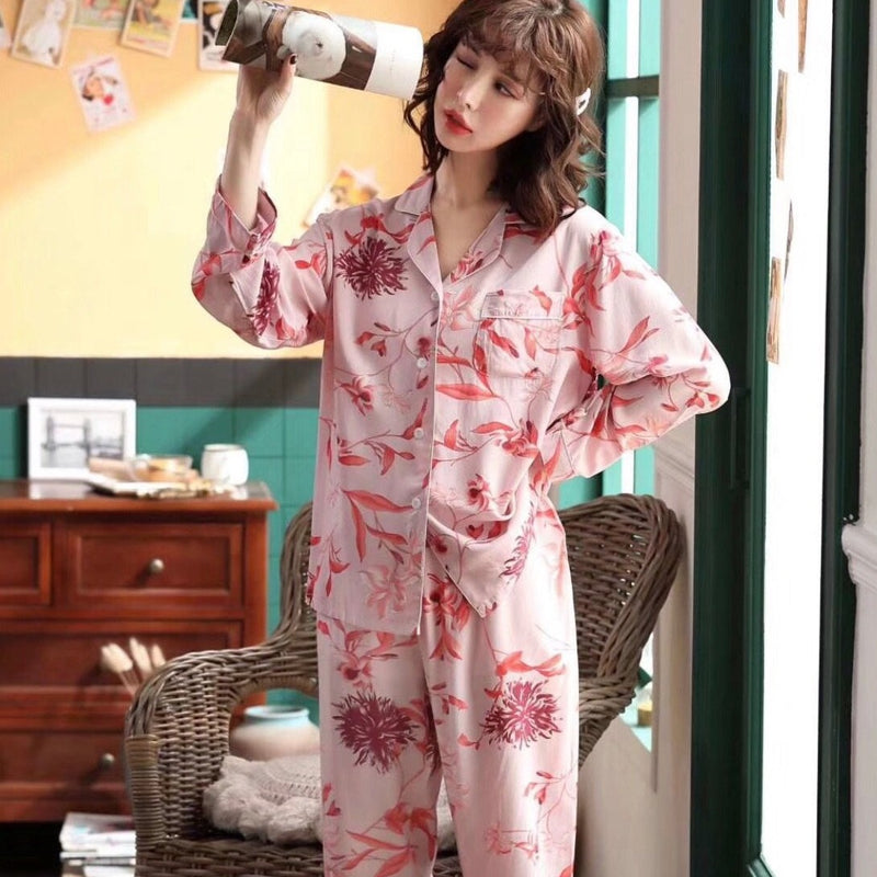 Spring pink set PJ - JUSYCO, Default - womenwear, Default - womenfashion