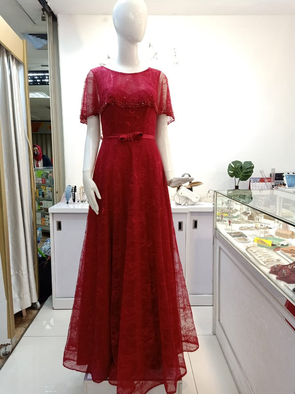 Amiati red gown