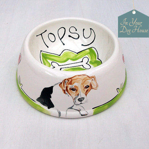 Personalised dog bowls, name tags, homeware and other dog gifts you will love!
