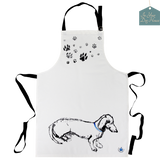 Apron featuring image of sausage dog