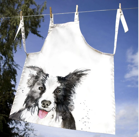 Collie Dog Adult Apron