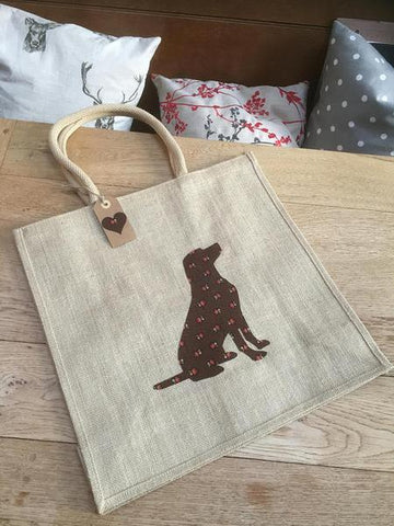 Labrador shopping bag
