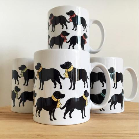 Labrador mug for dog lovers
