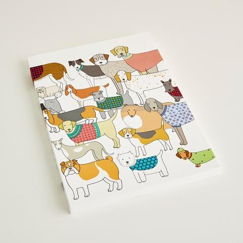 Dog print notebook / notepad