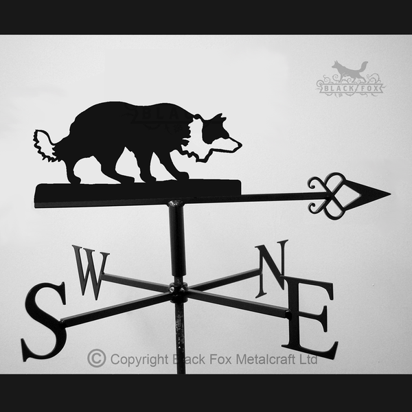 weathervane Border Collie Weathervane