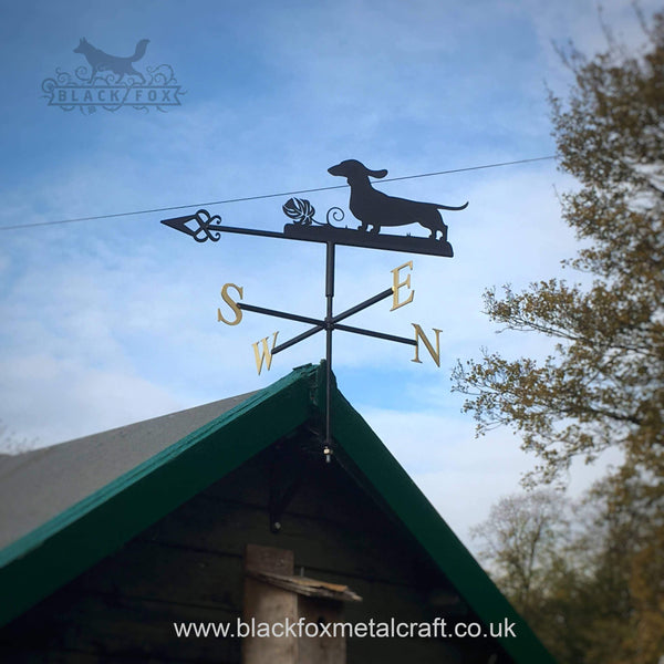 weathervane Dachshund Weathervane