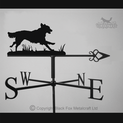 weathervane Flat Coated Retriever Weathervane