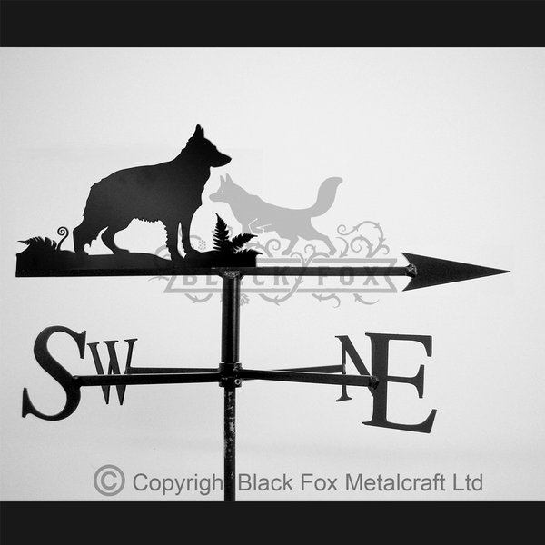 weathervane German Shepherd Weathervane