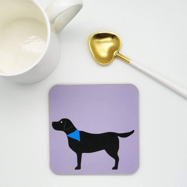 Coasters One coaster - Black Lab Black Labrador Coaster