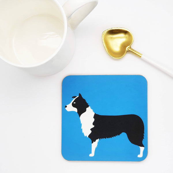 Coasters One coaster Border Collie Coaster