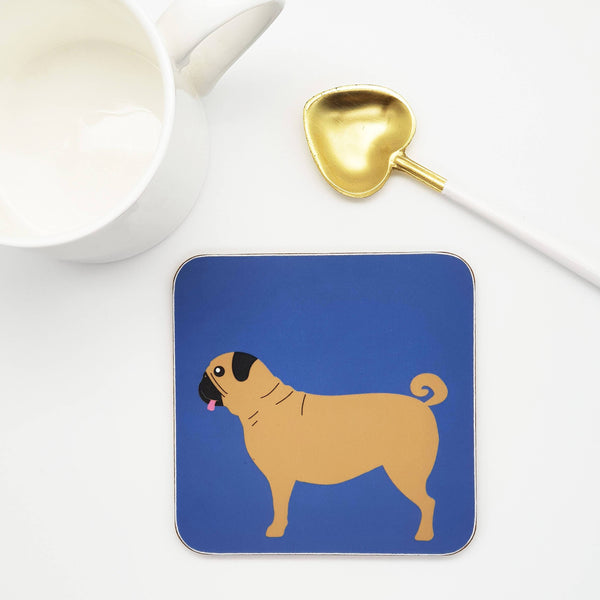 coasters / Placemats Pug Coaster
