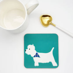 Coasters / Placemats Westie Coaster