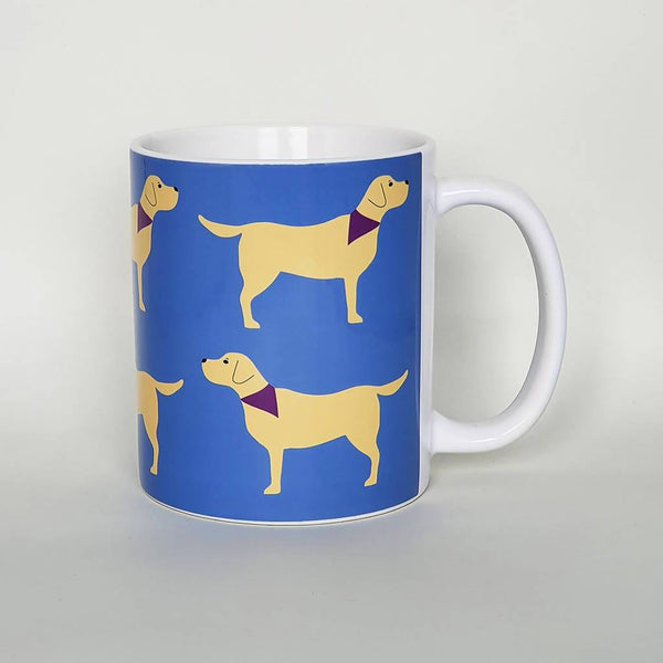 Mug Black Labrador / Yellow Labrador Dog Mug