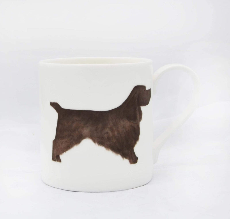 Black Cocker Spaniel Dog Mug