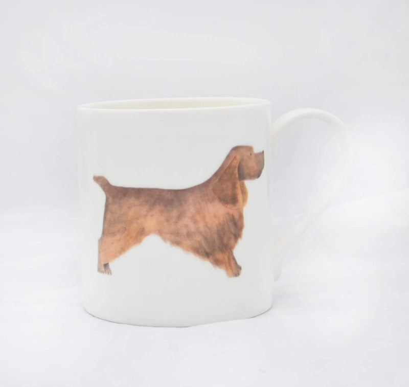 Brown Cocker Spaniel Dog Mug