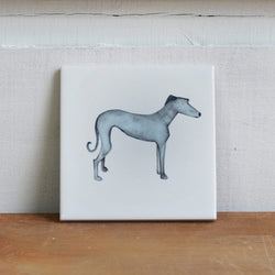 Coasters Grey Greyhound Coaster