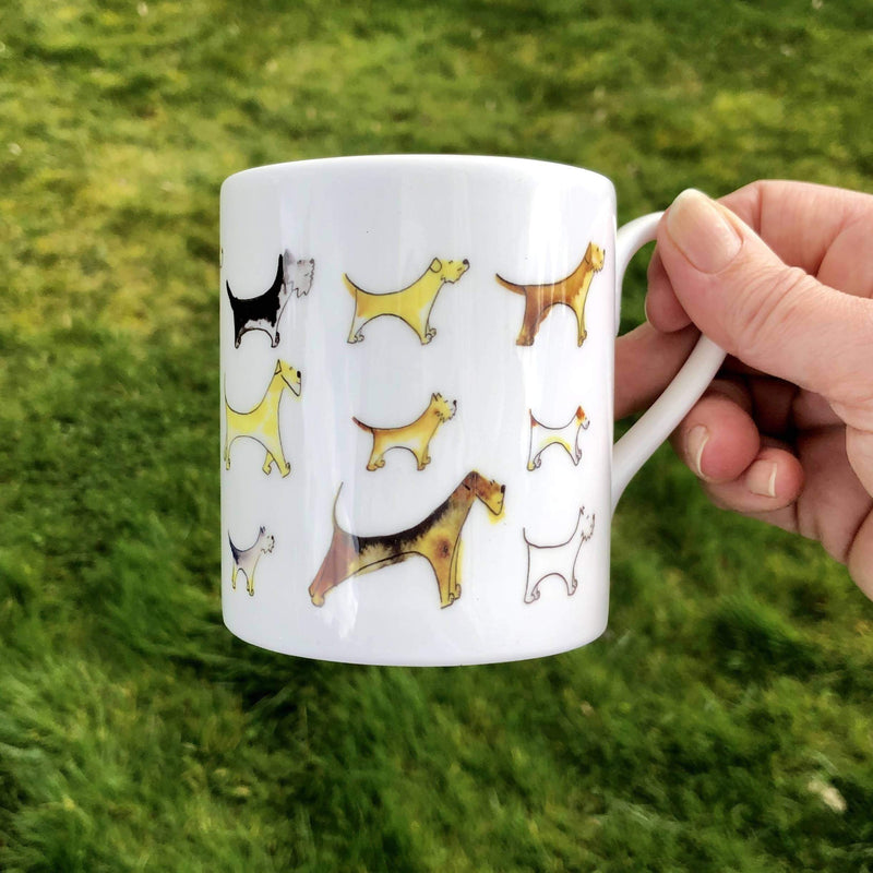 Mug Terrier bone china mug
