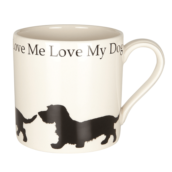Wired Haired Dachshund 'Daxi' Mug