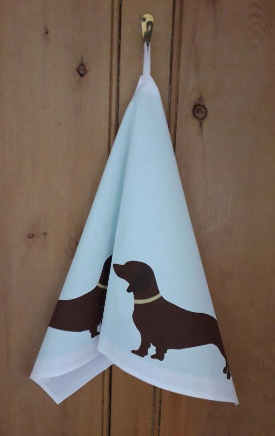Tea Towel Dachshund Tea Towel