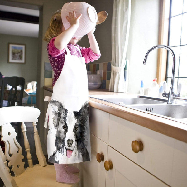 Apron Border Collie Dog Child's Apron