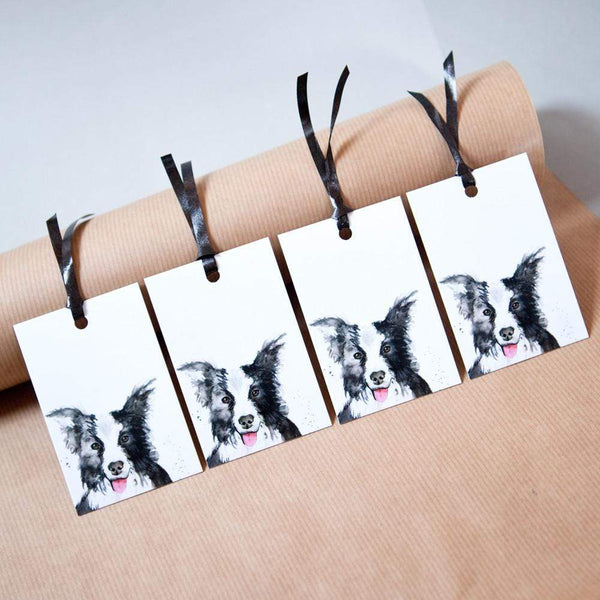 Gift Tag Collie Dog Gift Tags