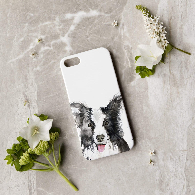 Phone Case iPhone 5/5s/SE Collie Dog Phone Case