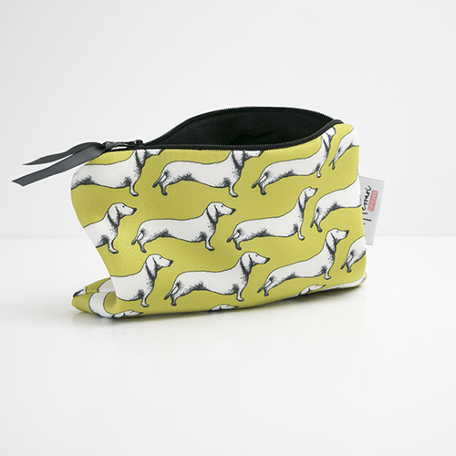 Accessories Dachshund Makeup Bag for Dog Lovers