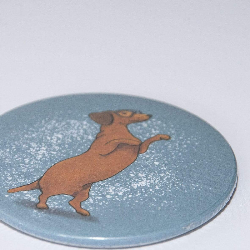 Mirror Dachshund Pocket Mirror