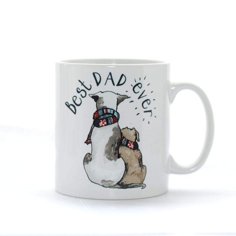 Mug Blank Pug Mug Best Dad Ever